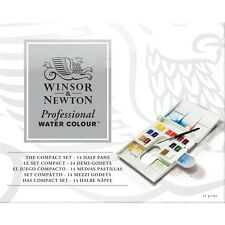 Winsor & newton artists qualité professionnelle aquarelle compact set