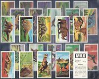 MILK MARKETING-FULL SET- PREHISTORIC ANIMALS (25 CARDS) - EXC+++