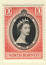 Elizabeth II (1952-Now) North Bornean Single Stamps