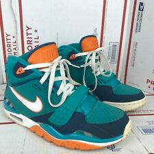Nike Mens Air Trainer SC II QS NFL Dolphins Shoes 614640-300 Size 9.5