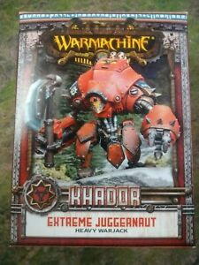 Warmachine MK2/MK3 Khador Extreme Juggernaut PIP33115 BNIB