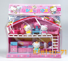 Sanrio Hello Kitty Friendly House Play Set Role Play Doll Furniture Toys