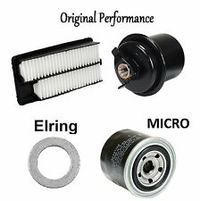 Tune Up Kit Air Oil Fuel Filters Gasket for Honda Accord V6; 2.7L 1995-1997