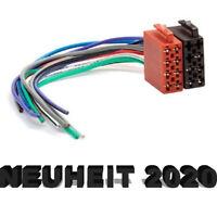 DIN ISO Auto Radio Adapter Kabel Stecker 16 Pin Strom für VW Audi Mercedes Opel