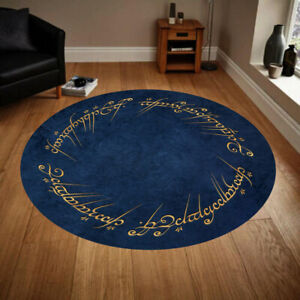 Lord Of The Rings 30, Round Rug, Fan Carpet,Rug For Living Room,Room Decor