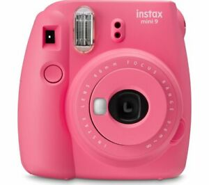 INSTAX mini 9 Instant Camera - Flamingo Pink - Currys
