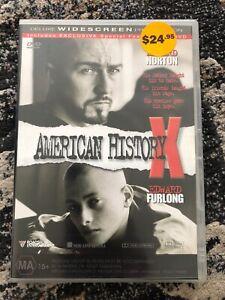 American History X (DVD, 2000) Edward Norton Region 4