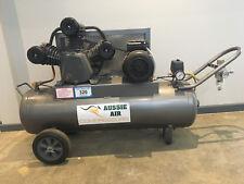 Air Compressor Australian Made 70L 17 CFM Cast Iron pump 240V Single Phase 3HP