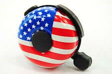 Bicycle Bell/Ringer, USA Flag Stars and Stripes Design