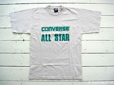 NOS 90er CONVERSE ALL STAR Classic T-Shirt Cons True Vintage Festival Chucks S