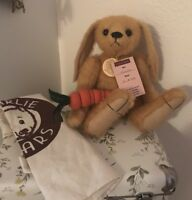 Rare Charlie Bear Hannah First With Accessories. All Tags & Toto Bag& Free Bear