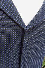HERVORRAGENDE Marni schwarz & blau strukturierte Gewebe Tropfen Taille Kleid Größe 38 UK 8 NWOT