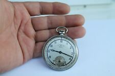 Antique Vintage Swiss Army Chronometre HELVETIC EXTRA Mens Pocket Watch