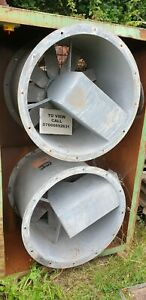 Woods Industrial Fan Extractor Industrial Spray Booth Fan 3-Phase 760mm Diamiter