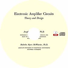 Electronic Amplifier Circuits {1961} by Joseph Petit Theory & Design Book on CD