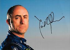 David BRABHAM signé ALMS Team patron Portrait 2010