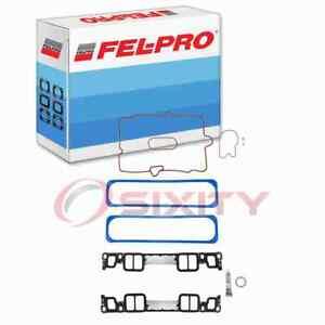 Fel-Pro Engine Intake Manifold Gasket Set for 1996-1999 GMC K1500 5.0L 5.7L qr