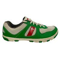 True Linkswear Women's Spikeless Golf Shoes Green Red White Size 9 W3-0005-090