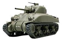 Tamiya 1/48 Military Miniature Series No.23 US Army M4A1 Sherman Tank Plastic mo