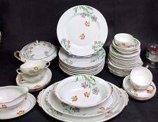 "Set of 4 Vintage AMC Auguste Mouzin Germany China Dinner Plates 10"""