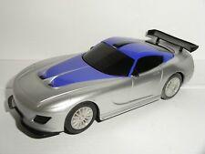 Scalextric-Dodge Viper plata/púrpura-Nr. como nuevo CDN