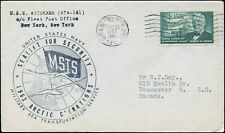 USS EDISTO 1962 ARTIC OPERATIONS 1961 Cover to VANCOUVER