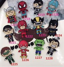 Lot 50 pcs acrylic 12 Styles cartoon Badge Button Pin kids gifts