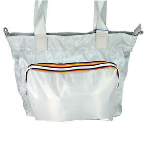 Borsa Shopping Donna K-Way Bag Woman K-Toujours Shopper K1R050-Grigio