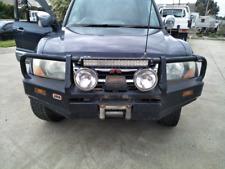 NM pajero bullbar, winch and driving lights