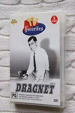 Dragnet: Disc 1 and 2, TV Favorites (DVD), Region-4, Like new, free shipping