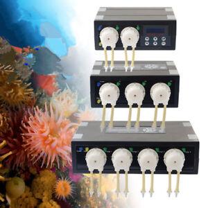 JEBAO JECOD Dosing Pump Kit Tank Marine Fish Aquarium Coral Auto Dose Saltwater