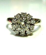 Ringe mit Diamanten im Cluster Stil