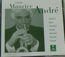 CD x2  L'ART DE MAURICE ANDRE  - TRES BON ETAT