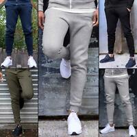 Enzo Mens Slim Joggers Fleece Cuffed Jogging Bottoms Track Sweatpants Trousers