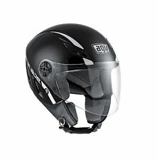 CASCO DEMI-JET AGV BLADE GLOSS BLACK TAGLIA XL