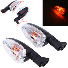 Amber Motorcycle Turn Signal Lights for BMW R1200GS 2004-2007/K1300R 09-14 6mm