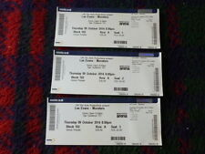 """Lee Evans """"Monsters"""" Tour  Manchester Arena 2014 Expired Tickets x  3"""