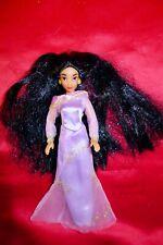 "Mini Vestido Disney Muñeca Jasmine Aladdin Rara Vintage Década de 1990 6"" versión, Lila"