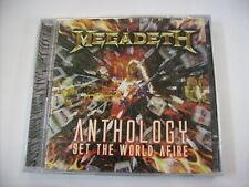 MEGADETH - SET THE WORLD AFIRE - 2CD SIGILLATO 2008