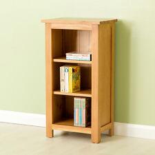 Carne - Oak Mini Bookcase / Solid Oak Shelving / Small Handcrafted Bookshelf