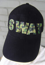 SWAT Novelty Costume Baseball Cap Hat Adjustable One Size Camo