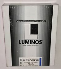 250 8x10 Luminos Photographic Papers Flexicon Vc Pearl Medium Weight B&W Sealed