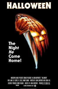 HALLOWEEN MOVIE POSTER Classic Horror Poster, Size 24x36