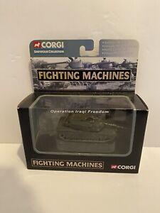 Corgi - M1 Abrams Tank 1/72 - Showcase Fighting Machines Iraqi Freedom - MIB