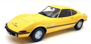 Premium ClassiXXS 1/12 Scale PCL40006 - 1965 Opel GT/J Junior - Yellow