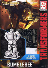 Fascinations Metal Earth Transformers Bumblebee 3D Laser Cut Steel DIY Model Kit
