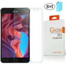 [3x] Nacodex Tempered Glass Screen Protector For Asus Zenfone 3 ZS571KL