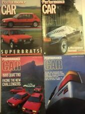 Cars, 1980s Transportation Performance Car Magazines in English