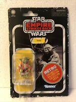 Yoda Vintage Star Wars Action Figure Retro Collection Kenner Hasbro Disney new