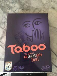 Hasbro Taboo Board Game - Brand New